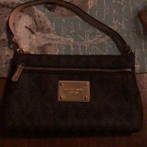 Michael Kors large wristlet purse